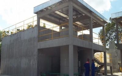 Construcao da E T E da Bombril em Recife PE 1