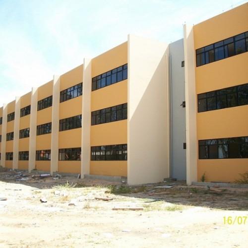 Construcao do Bloco de Salas de Aulas da UNIVASF Juazeiro BA