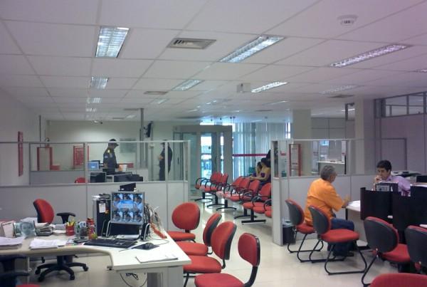Reforma da Agencia do BNB em Vitoria de Sto Antao PE