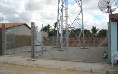 Torre de telefonia movel em Cumbe SE